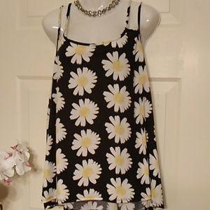 Mine Too Daisy Flower Blouse